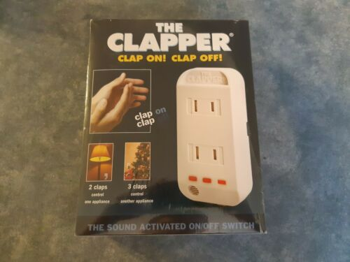 NEW The Clapper Sound Activate On/Off Switch Wall Plug