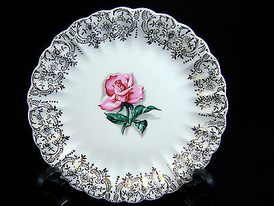 "American Limoges Le Fleur Rouge 6.5"" Bread & Butter Plate SEVERAL AVAILABLE"