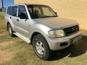 2003 MITSUBISHI PAJERO TURBO DIESEL WAGON Bentley Canning Area Preview