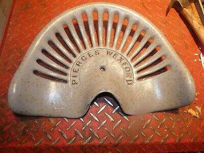 Pierce  Vintage Cast Iron Tractor Farm Implement Seat Antique Collectibles