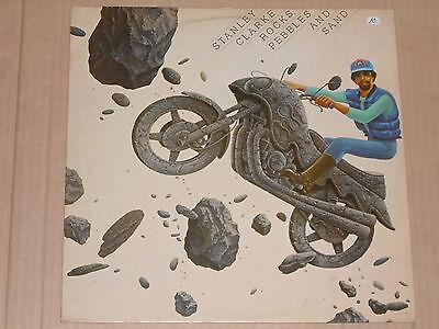 STANLEY CLARKE -Rocks, Pebbles And Sand- LP