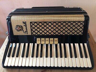 Scandalli Piano Accordion 120 Bass