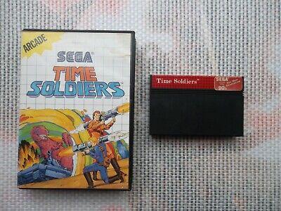 Jeu Master System / Ms Game Time Soldiers + boite PAL retrogaming SEGA original*