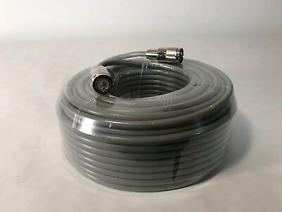 100FT RG-8x COAX COAXIAL CABLE LOW LOSS w/ MALE PL-259 CB HAM RADIO RG8 NEW! . Buy it now for 44.95