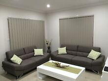 Ultra modern 3.5 seater + 2.5 seater immaculate lounge sofa suite Cecil Hills Liverpool Area Preview