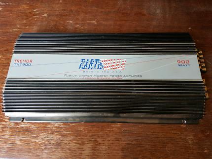 Car amp tremor tnt900 5- channel 900 watt