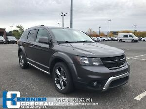 2017 Dodge Journey Crossroad **AWD, 7 PLACES, ENS. CHAUFFANT**