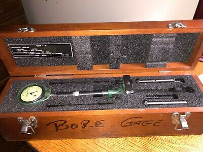 Federal 1250p-4-r1 4-8 Extension Bore Gage 102-203mm .0001 Rc21 Indicator