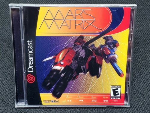 Reproduction Mars Matrix (Dreamcast) Manual, Insert and Case