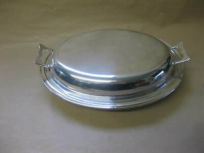 Plato Silver Plated Jewelry Tray England