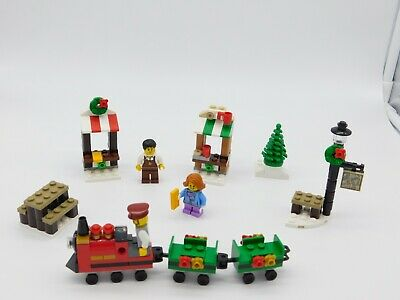 Lego Christmas Train Ride Set 40262 Missing instructions and box