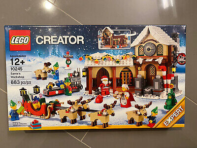 LEGO 10245 SANTA'S WORKSHOP 10245 New In Factory Seal Ship Immediately