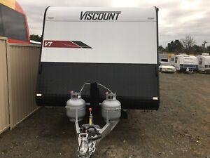 Viscount V1 - 17'6 Ensuite Caravan North St Marys Penrith Area Preview