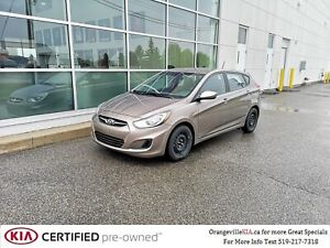 2014 Hyundai Accent 5dr GL Automatic - Trade-in, Low Kms