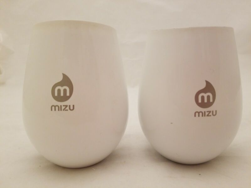 MIZU Wine Cup Stainless Steel Lot of 2