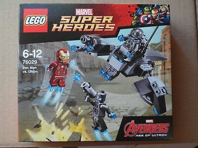 Lego Marvel Super Heroes - Iron Man vs. Ultron 76029 Neu &