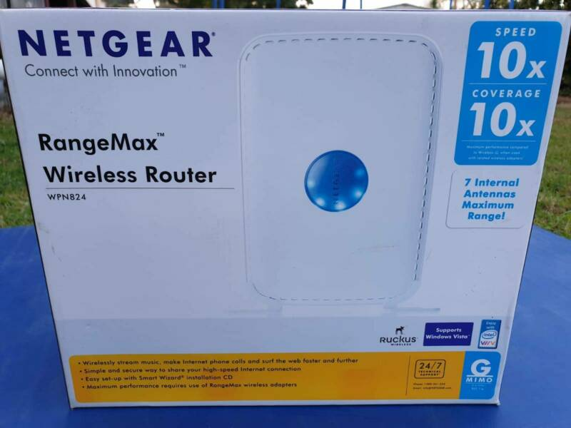 Netgear Router WPN824 | Modems & Routers | Gumtree