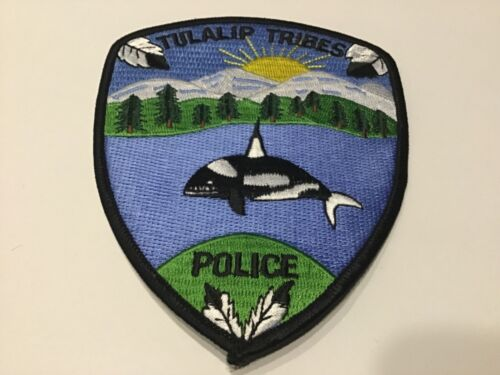 TULALIP TRIBES POLICE  PATCH