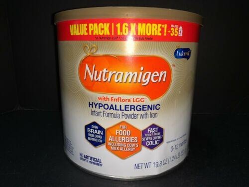 Enfamil NUTRAMIGEN Hypoallergenic Colic Baby Formula Powder 19.8 oz  Exp 2022
