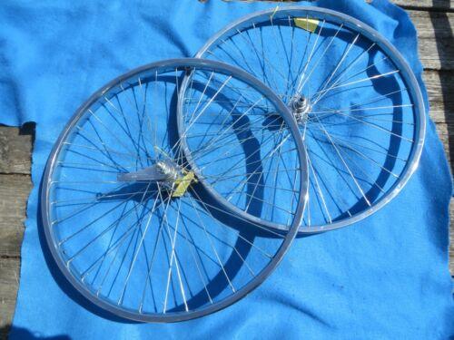 "Bicycle Balloon Tire Coaster Brake Chrome Wheel Set 26"" X 2.125"" Heavy Duty- New"