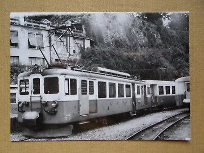 312 Foto SCHWEIZ-MOB Triebwagen 3001 um 1966
