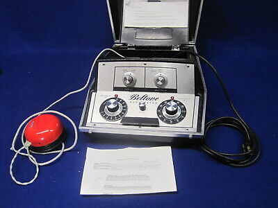 Beltone Portable Audiometer Model 9d With Red Right Headphone - Works