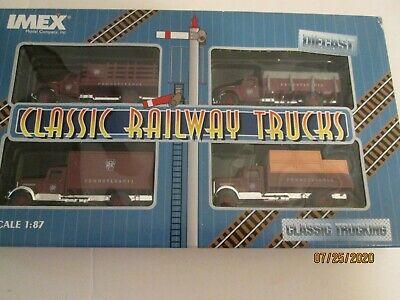 IMEX Model Co Classic Railway Trucks Diecast HO scale 1:87 FRISCO 4 Pack NEW