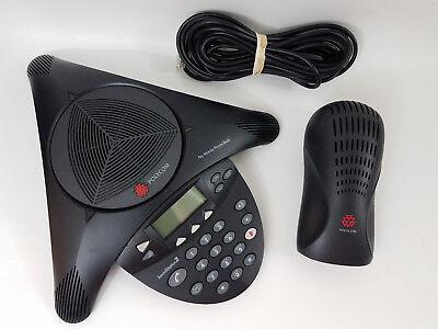 Polycom Soundstation 2 Expandable Conference Phone 2201-16200-601 2201-16020-601