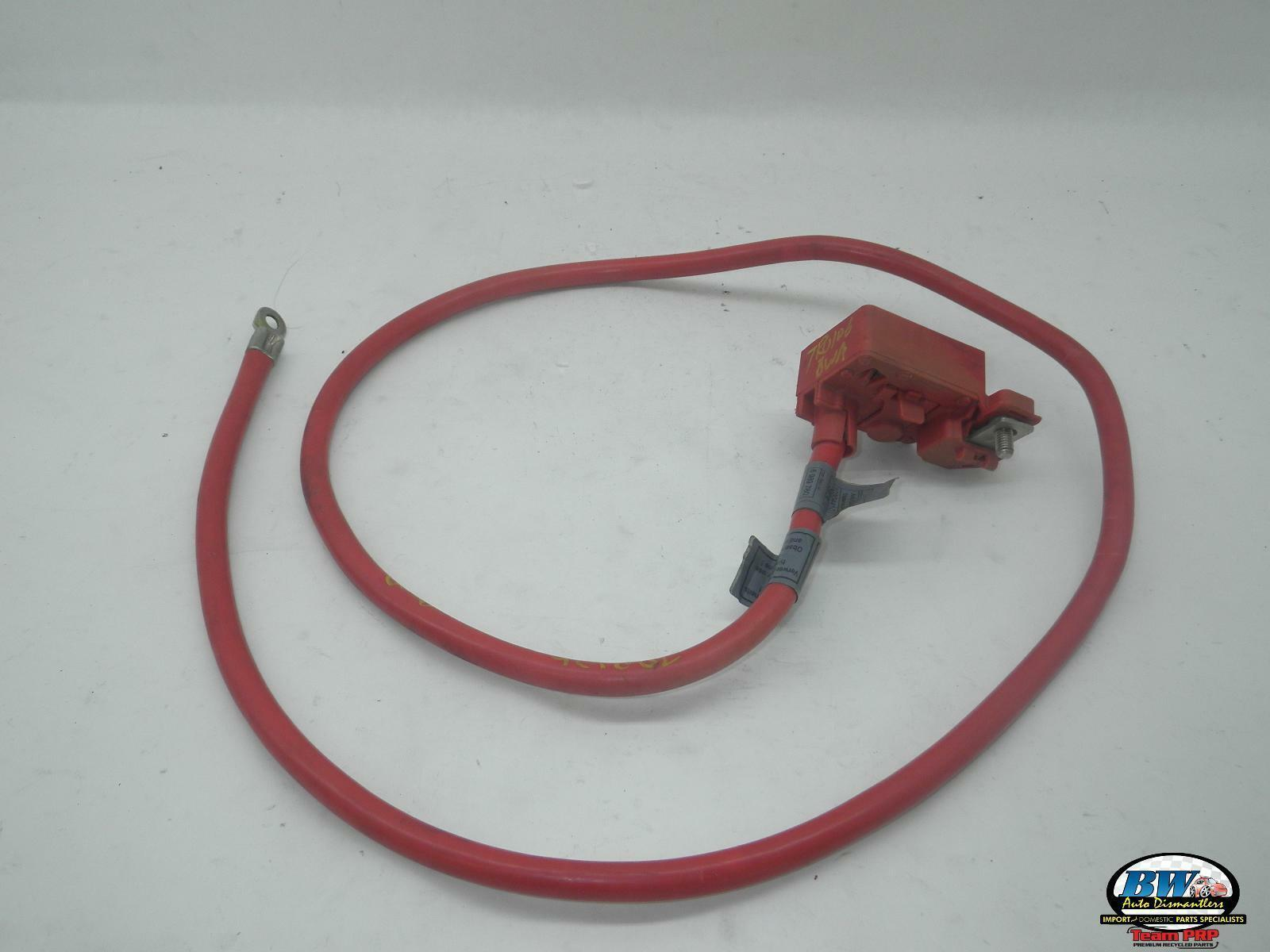 61126989780 Bmw 528i E60 Positive Battery Safety Terminal Cable 2004 10 Ebay