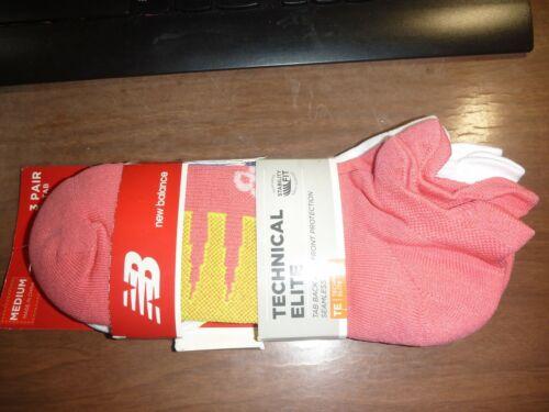 New Balance Unisex Technical Elite NBX Medium Tab  Socks 3 Pairs