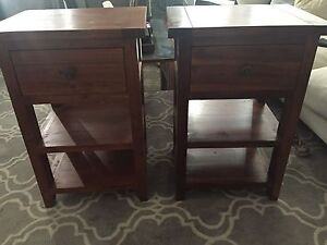 Solid timber bedside Hampton French provincial Burwood Heights Burwood Area Preview