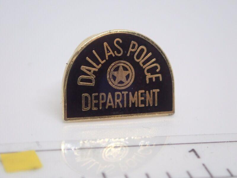 Dallas Police Department Vintage Enamel Lapel Pin