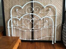 Beautiful cast iron French princess queen size bed Sheldon Brisbane South East Preview