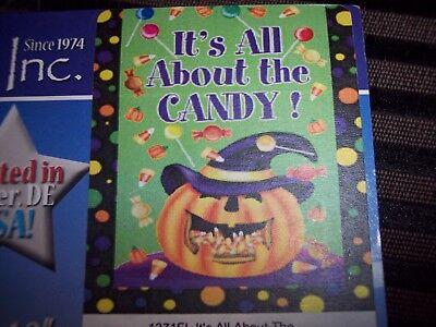 Holloween Candy (Custom Decor, Inc Flag 28