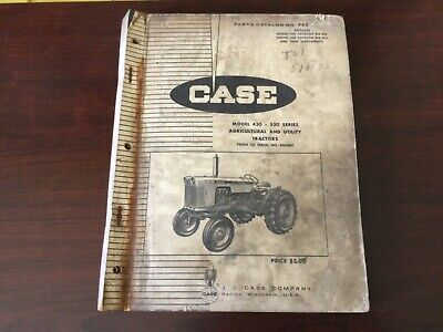 Case 430 And 530 Series Tractors Parts Catalog