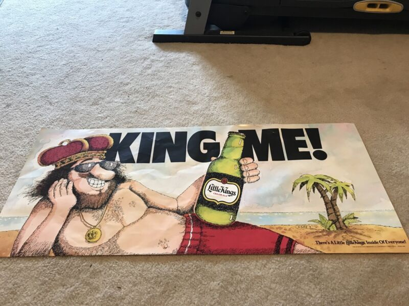 Little Kings Beer Poster Schoenling Brewing Co Ohio