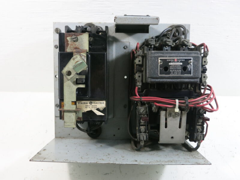 "GE 7098 Series Size 2 Starter 50 Amp Breaker 12"" MCC Bucket General Electric"