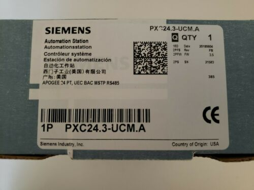 Siemens PXC24.3-UCM.A  Compact Unitary Controller Siemens   - New In Box  !!!!!