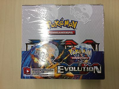 Pokemon XY12 Evolution- Display OVP deutsch (36 Booster)