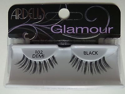 (LOT OF 72) Ardell Natural Lashes #102 DEMI False Eyelashes Fake Black Fashion