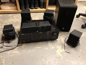 Yamaha home theatre surround sound system