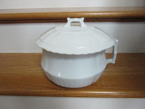 Vintage Royal Ironstone China Chamber Pot By Johnson Bothers of England