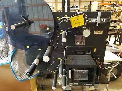 Label-aire 2138 Label Applicator W Sato Printer