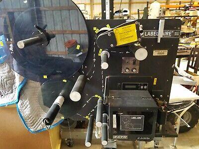 Label-aire 2138 Label Applicator W Sato Printer