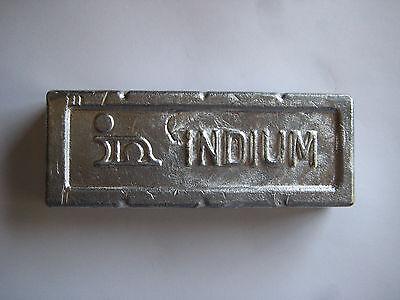 Indium 99.999 Ingot- 1 Kg.
