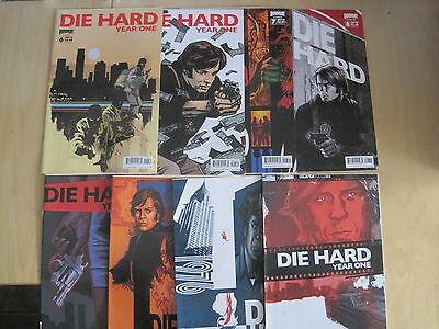 DIE HARD, YEAR ONE : BUNDLE of 8 ISSUES : 1,1,5,6,6,7,7,8. MOVIE. BOOM!.2009