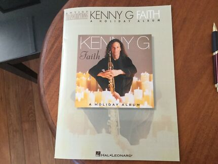 Kenny G Faith Christmas Album Saxophone Clarinet NEW