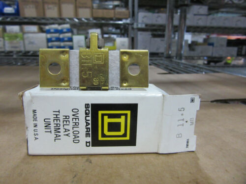 Square D B11.5 Thermal Overload Heater Element New!!! in Box Free Shipping