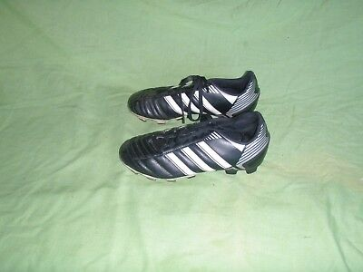 info for 2a009 3bd54 Adidas Puntero VIII TRX FG Youth Boys Girls Size 1.5 Black Used Soccer  Cleats