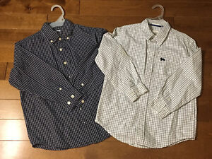 Two Boys' Shirts, Size 5-7